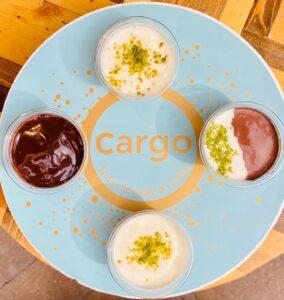 Dandorma: chocolate and vanilla